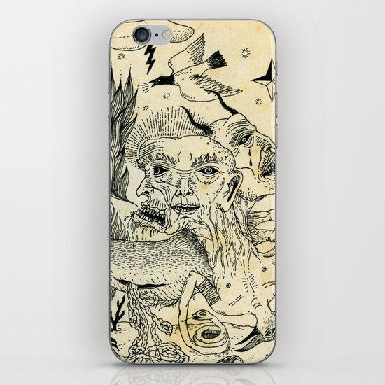Grotesque Flora and Fauna iPhone & iPod Skin