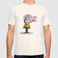 Relatively Einstein Mens Fitted Tee Natural SMALL