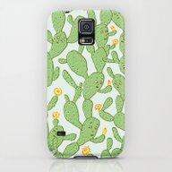 Happy Cactus | Pattern Galaxy S5 Slim Case