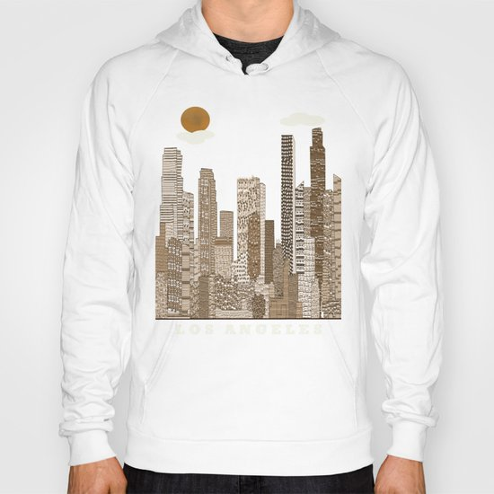 los angeles city   (vintage) Hoody