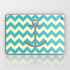 Chevron Anchor Laptop & iPad Skin