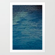 Frozen Water Art Print