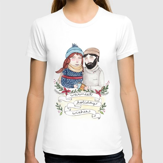 Warmest Holiday Wishes T-shirt