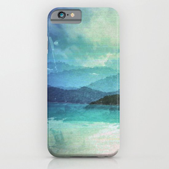 Tropical Island Multiple Exposure iPhone & iPod Case
