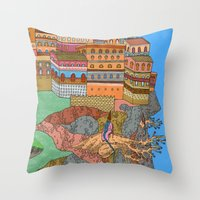 Cliff City Wizards Throw Pillow