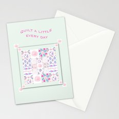 A Shabby Chic Patchwork Stationery Cards