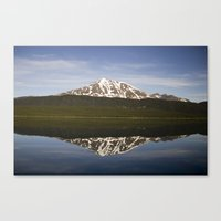 Reflections: Floating Ar… Canvas Print