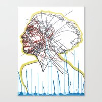 Sleep And A Forgetting Canvas Print