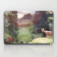 Temporary Happiness part 1 deer iPad Case