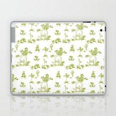 Yellow Toile Unicorn Laptop & iPad Skin