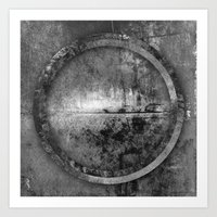 Circle Distortions #6 Art Print