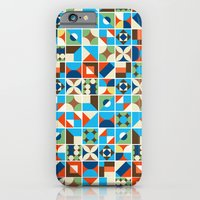 iPhone & iPod Case featuring Nirmana Pattern by The Babybirds