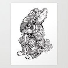 BUN EY Art Print