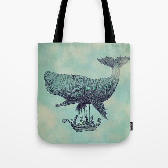 Tea at 2,000 Feet Tote Bag