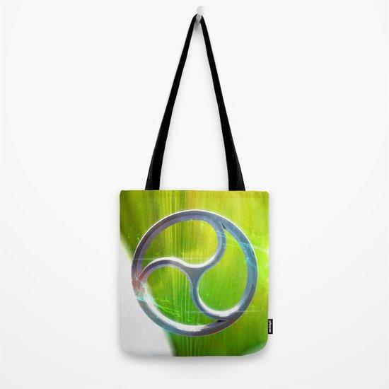 sacred geometry trinity 03 tote bag by harmonic geometry
