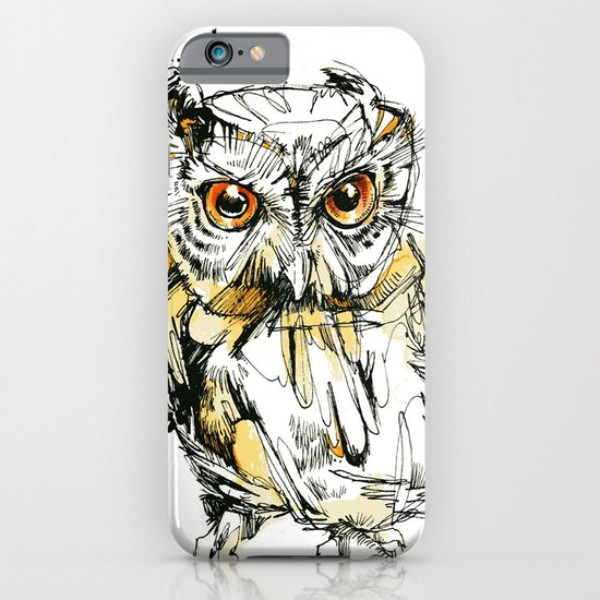 Little Screech iPhone & iPod Case
