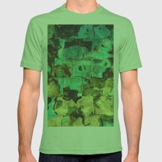 Systemic Collapse Mens Fitted Tee Grass SMALL
