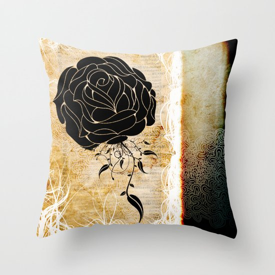 The change. Throw Pillow