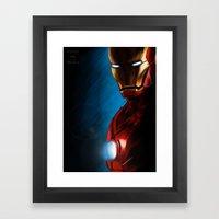 The Iron Man Framed Art Print