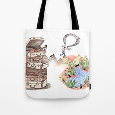 Let's Go Adventuring Tote Bag