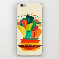 Colors And Flowers 2 iPhone & iPod Skin