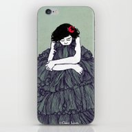 iPhone & iPod Skin featuring Ink 001 by Claire Ingram