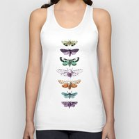 Techno-Moth Collection Unisex Tank Top