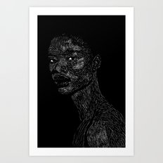 Black Girl #2 Art Print