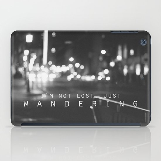 just wandering. iPad Case