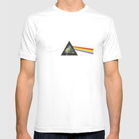 light side of the heidi Mens Fitted Tee White SMALL