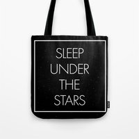 Sleep Under The Stars Tote Bag