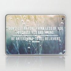 1 Timothy 4:12 Laptop & iPad Skin