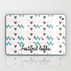 Festival Trouser Pattern Laptop & iPad Skin