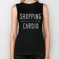 Shopping Counts As Cardio Biker Tank