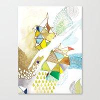 AGUA Canvas Print