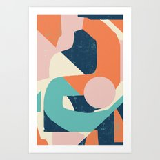 Dreamy Reactions Art Print