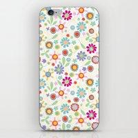 fresh flowers iPhone & iPod Skin