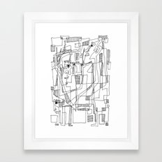Conversation Framed Art Print