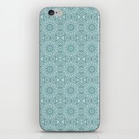 Abstract Blue Star iPhone & iPod Skin