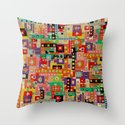 wonderlust Throw Pillow