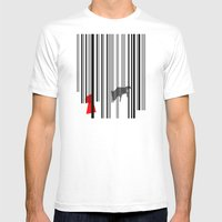 Out Of The Woods Mens Fitted Tee White SMALL