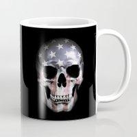 American Skull Mug