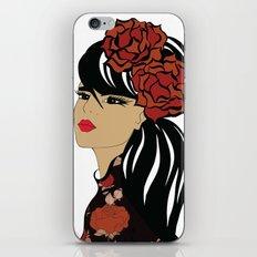 Flamenco Dancer | Spanish Girl | Fashion Illustration iPhone & iPod Skin