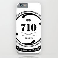 iPhone & iPod Case featuring the 710  by GGDUB