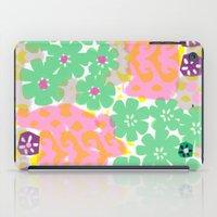 Les Fleurs iPad Case