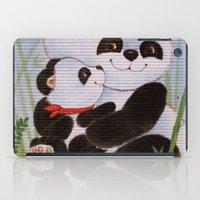 Panda Love iPad Case