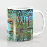 Small Bridge In The Wood… Mug