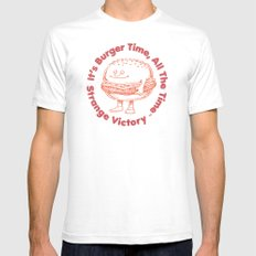 SV—07 Mens Fitted Tee White SMALL