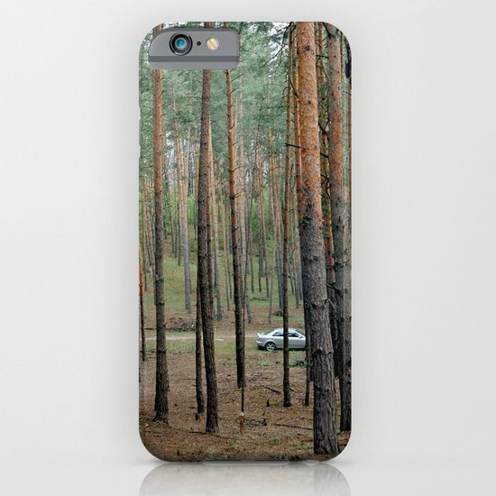 Forest & Car iPhone & iPod Case