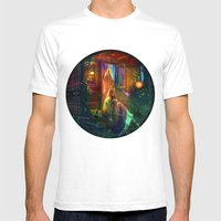 Gypsy Firefly Mens Fitted Tee White SMALL